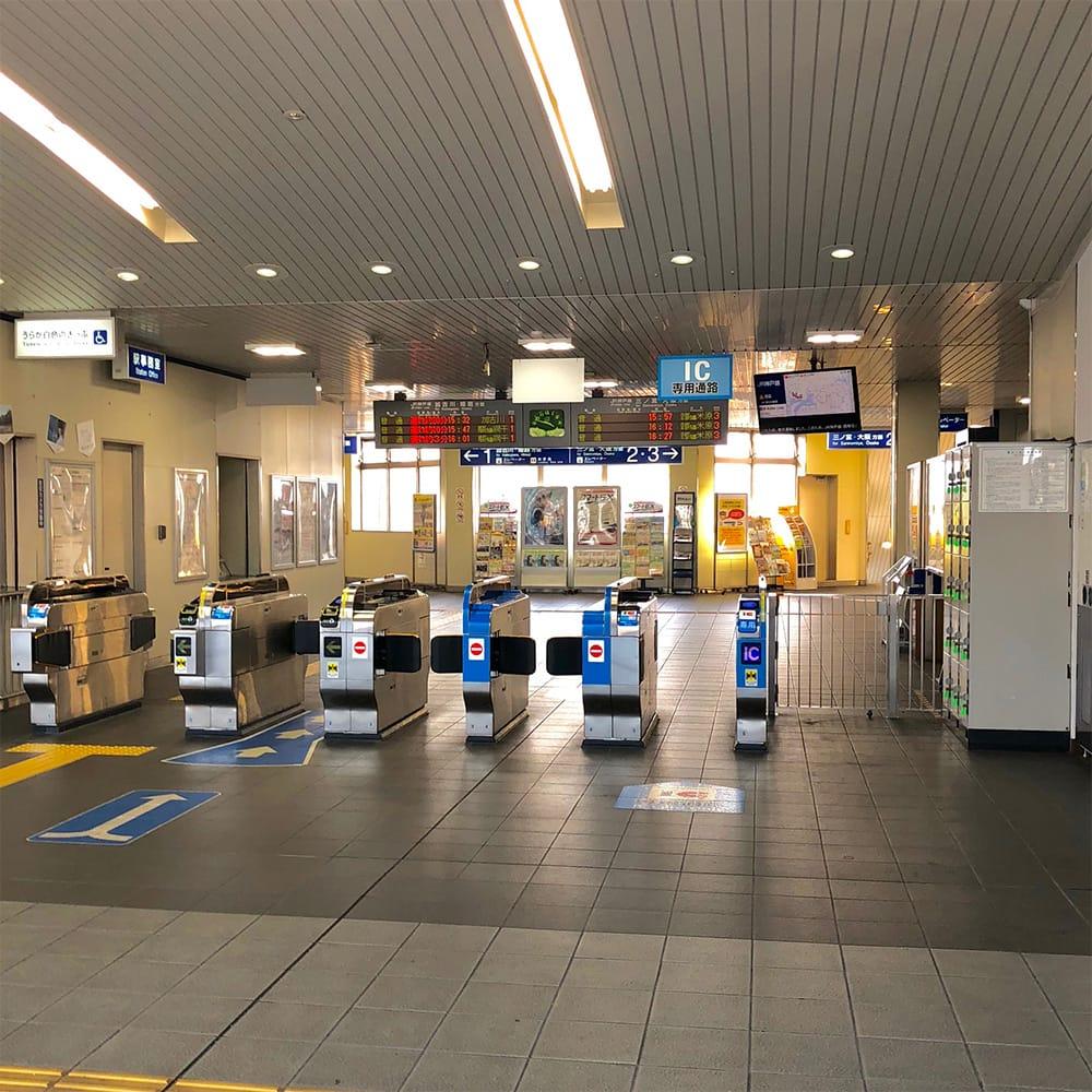 道順:東加古川駅改札口をでて左(北出口)へ